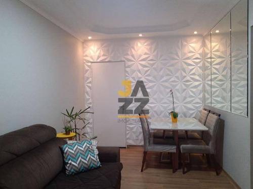 Apartamento Com 2 Dormitórios À Venda, 69 M² Por R$ 243.000,00 - Parque Dom Pedro Ii - Campinas/sp - Ap6582