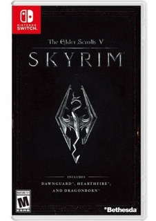 The Elder Scrolls V Skyrim Nintendo Switch Nuevo Y Sellado