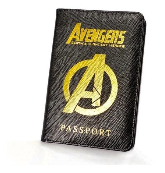 Porta Pasaporte Wakanda Avengers Harry Potter Hogwarts