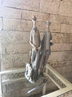 Los Cazadores Figura De Colección En Lladró