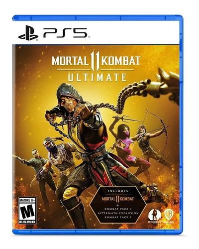 Imagen 1 de 7 de Mortal Kombat 11 Ultimate Ps5 Juego Fisico Sellado Original