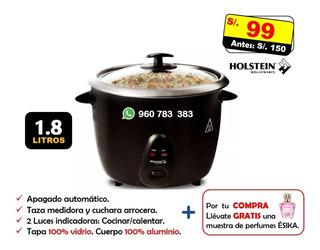 Olla Arrocera Holstein 1.8 L 100% Aluminio No Grill Sartén