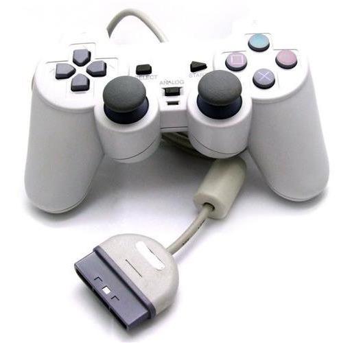 Controle Para Playstation 1 Playstation 2 Com Analógico Novo