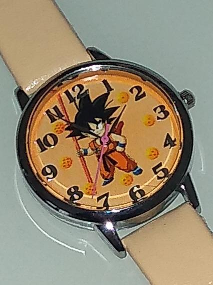 Relógio Goku Kid Unissex Laranja