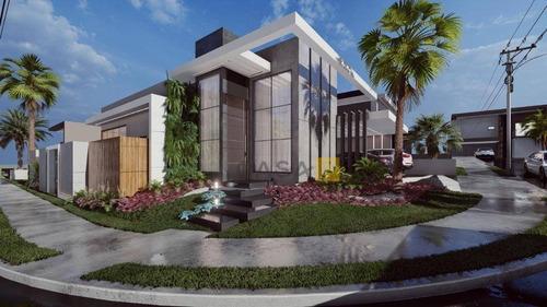Casa Com 3 Dormitórios À Venda, 214 M² Por R$ 1.200.000 - Condomínio Engenho Velho - Nova Odessa/sp - Ca1010