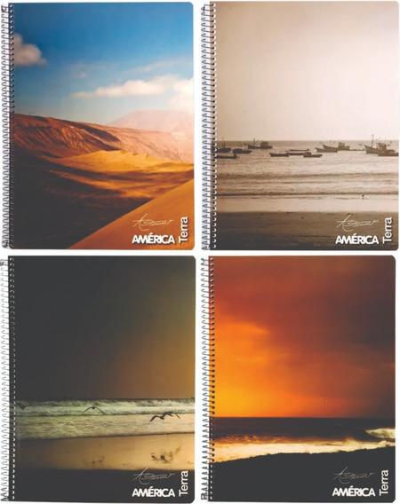 Cuaderno Universitario América 80 Hjs (223 X295 Mm)
