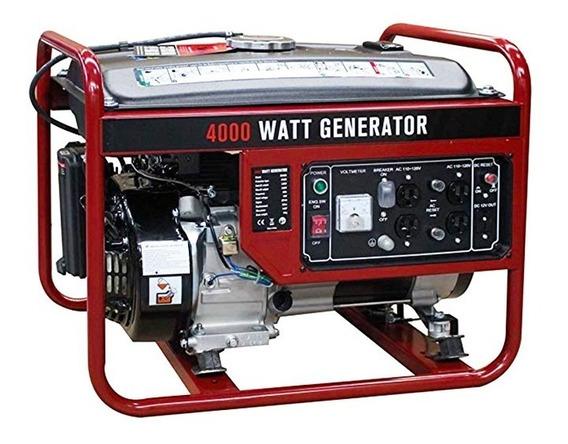 Planta Eléctrica Portátil 4000 Watts Goplus A Gasolina