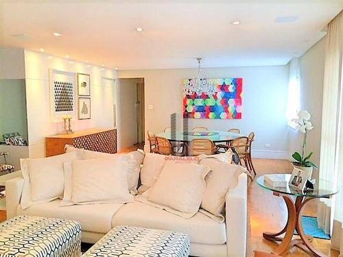 Apartamento Com 3 Dormitórios À Venda, 185 M² Por R$ 1.100.000 - Parque Da Mooca - São Paulo/sp - Ap2614