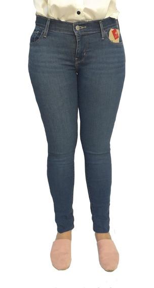 Pantalón Jean Levis 710 Super Skinny Dama Mujer