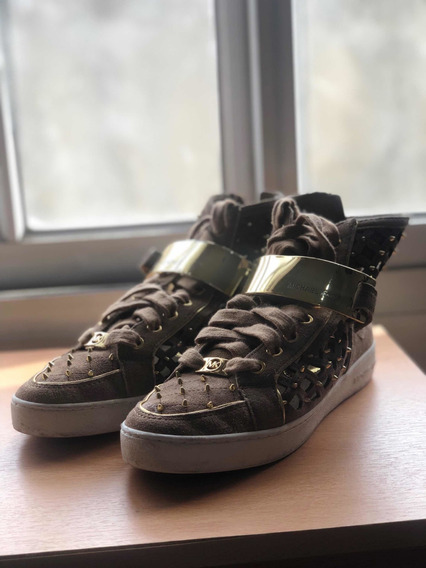 Zapatillas Michael Kors Doradas