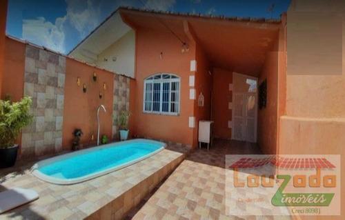 Casa Para Venda Em Peruíbe, Cidade Nova Peruibe, 3 Dormitórios, 1 Suíte, 1 Banheiro, 2 Vagas - 0788_2-421009