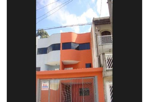 Imagem 1 de 16 de Sobrado Com 3 Dormitórios À Venda, 170 M² Por R$ 600.000,01 - Jardim Milena - Santo André/sp - So0517