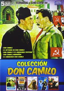Don Camilo ( Fernandel) Coleccion Completa Dvd