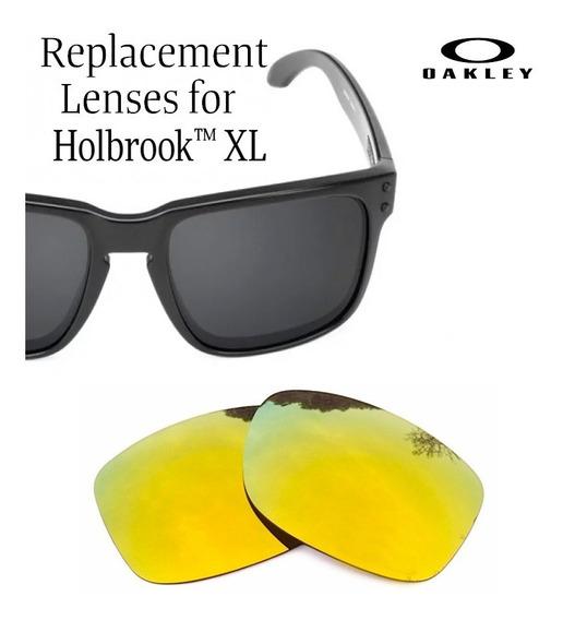 Micas De Reemplazo Para Oakley Holbrook Xl Color 24k