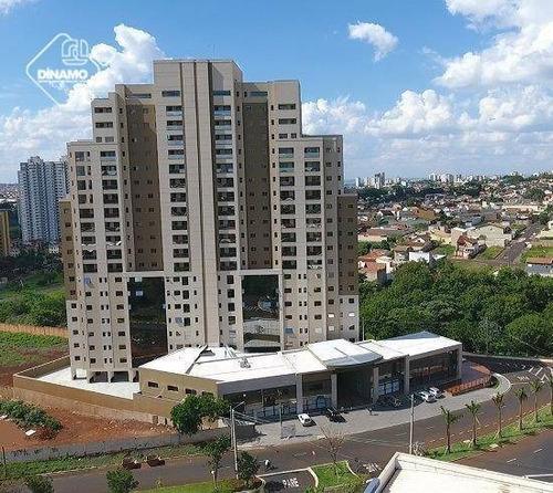 Apartamento Com 1 Dormitório À Venda, 45,22 M² - Residencial Flórida - Ribeirão Preto/sp - Ap3163