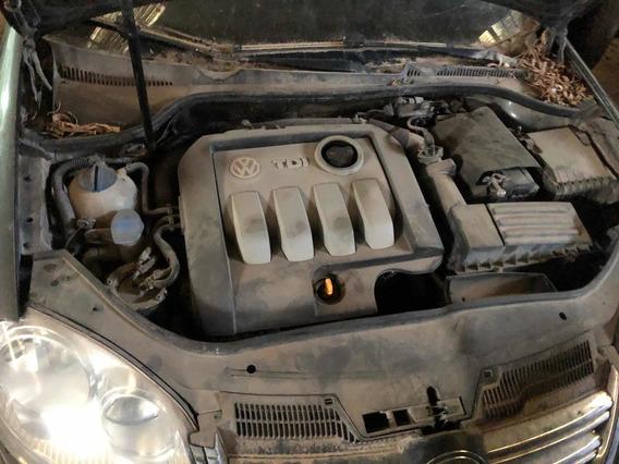 Volkswagen Vento 1.9 Tdi Chocado No Motor Valido De Alta