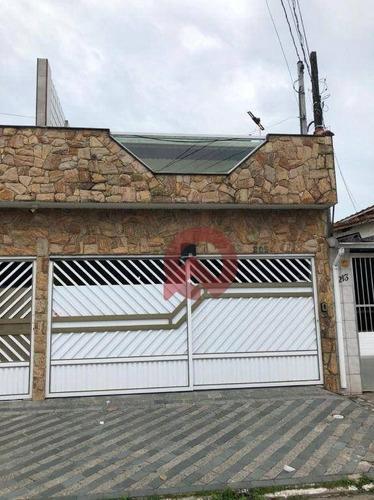 Imagem 1 de 25 de Sobrado Com 3 Dormitórios À Venda, 150 M² Por R$ 690.000 - Boqueirão - Praia Grande/sp - So0066