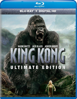 Blu-ray King Kong (2005) Ultimate Extendida / 2 Discos