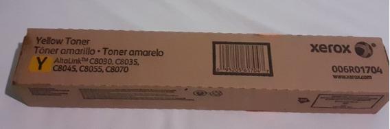 Toner Xerox C8030 Cartucho Amarelo Original