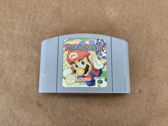 Mario Party 64 Nintendo 64 N64 100% Original Europeu