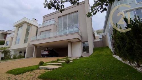 Imagem 1 de 30 de Casa Com 4 Dormitórios À Venda, 469 M² Por R$ 2.790.000,00 - Residencial Burle Marx - Santana De Parnaíba/sp - Ca1220