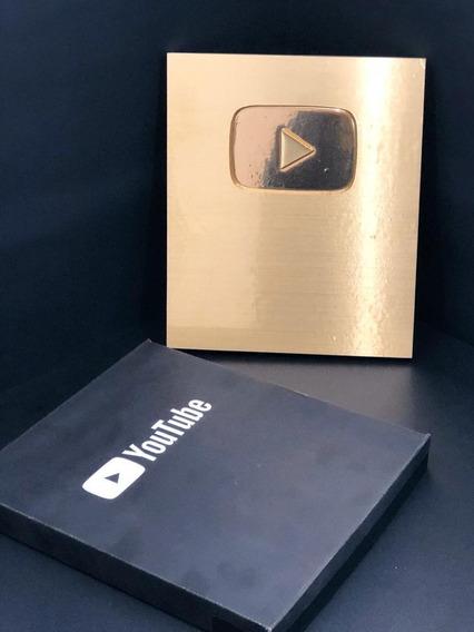 Placa O Botón De Youtube