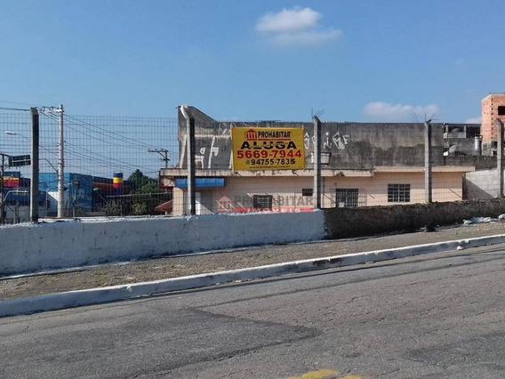 Alugo Terreno Comercial De 1.100 M² Excelente Localização Perto Do Passa Rápido Rio Bonito E Sub-prefeitura Bom Preço - Te0925