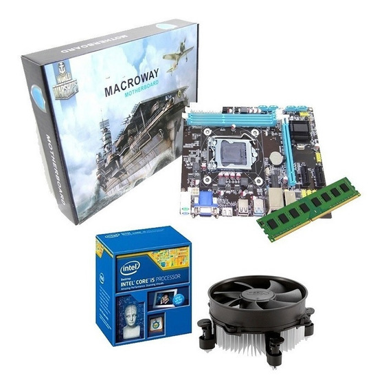 Kit Upgrade Placa + Processador I5 3470 + 8gb - Pronta Entrega