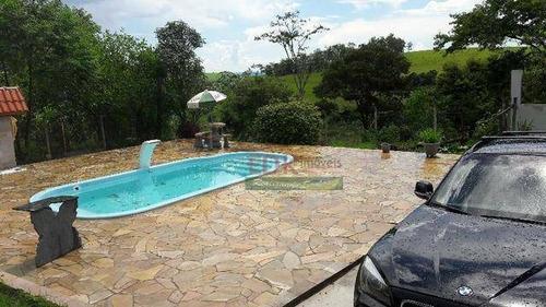 Imagem 1 de 13 de Chácara Com 2 Dormitórios À Venda, 2000 M² Por R$ 440.000 - Chácaras Santa Rita - Caçapava/sp - Ch0208