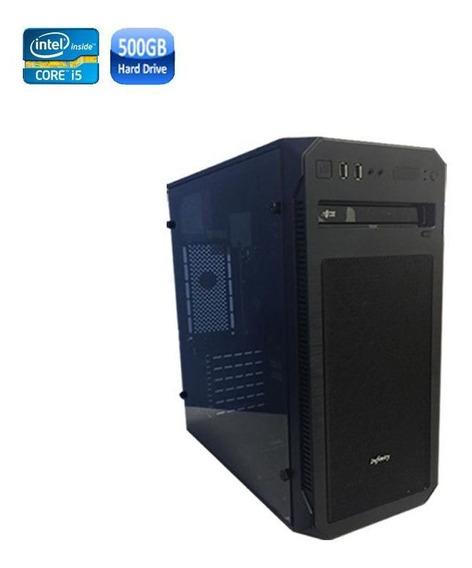 Pc Optimus Intel I5 8gb Hd 500gb + Wi-fi