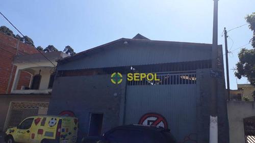 Galpão À Venda, 457 M² Por R$ 1.000.000,00 - Capão Do Embira - São Paulo/sp - Ga0073
