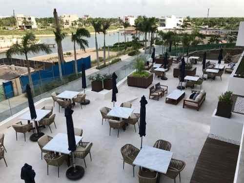 Departamento En Venta Ubicado En Zona Lujosa De Cancún, Mod. N-2f Allure .