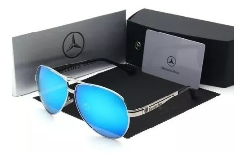 Óculos De Sol Mercedes- Benz Original Lentes Polarizadas
