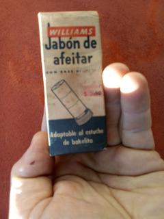 Antiguo Jabón De Afeitar Williams S/usar - Precio X C/u