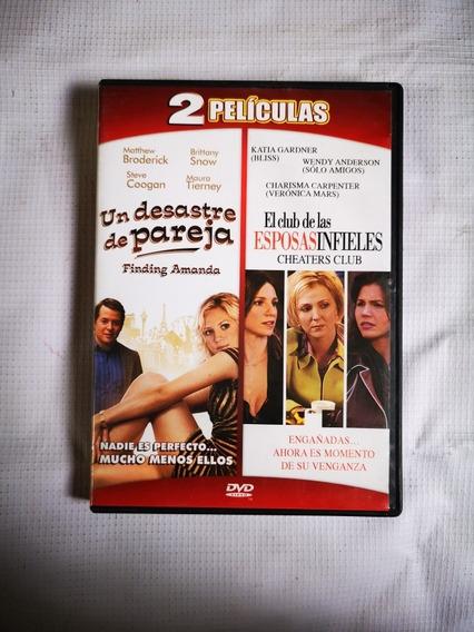 Un Desastre De Pareja Y El Club De Las Esposas Infieles Dvd