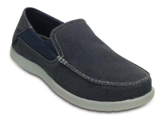 Zapatos Crocs Hombre Casual Nauticos - Santa Cruz Luxe 2 -