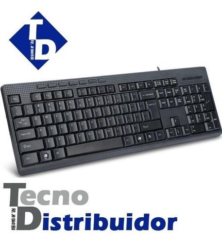 Teclado Alambrico Usb Delux K6300 Keyboard Negro Nuevo Td