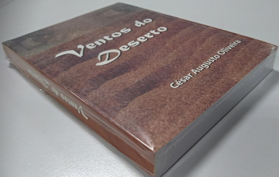 Ventos Do Deserto - Livro Autografado Pelo Autor