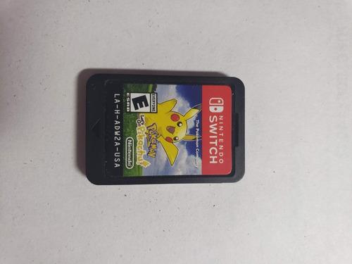 Pokemon Let's Go Pikachu Nintendo Switch Fisico!!!