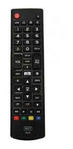 Imagem 1 de 5 de Controle Remoto Universal Para Tv Samsung LG