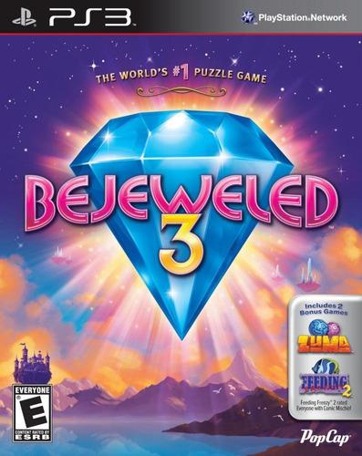 Bejeweled 3 (with Zuma & Feeding Frenzy 2) Playstation 3 ...