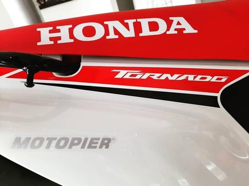 Honda Xr 250 Tornado 0km Entrega Ya Fcia C/tarj Motopier
