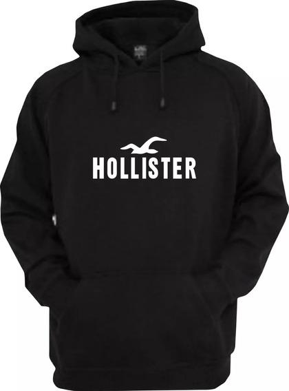 Blusa De Frio Hollister Feminino - Moletom Canguru Promoção