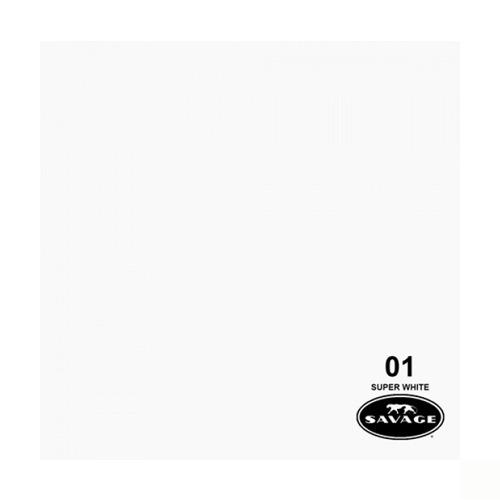 Imagen 1 de 3 de Ciclorama De Papel Chico Super Blanco #01 Savage