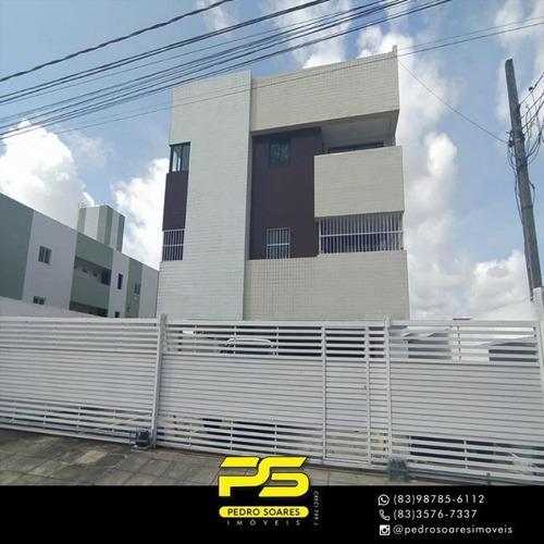 Apartamento Com 3 Dormitórios À Venda, 85 M² Por R$ 200.000 - Bancários - João Pessoa/pb - Ap3356