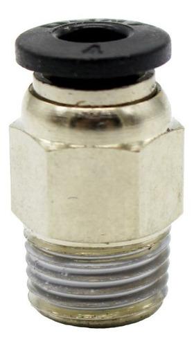 Imagen 1 de 5 de Acople Racor 3/8 Tubo Ptfe 4mm Teflon Impresora 3d