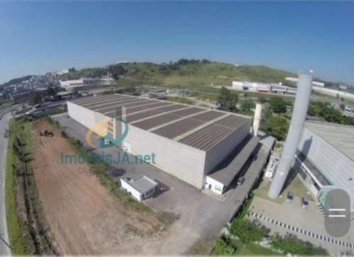 Imagem 1 de 17 de Pavilhão/galpão Industrial Para Alugar Em Jandira/sp - 770