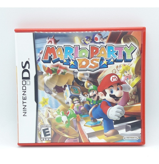 Mario Party Ds Nintendo Ds Midia Fisica Game 3ds 2ds Nds