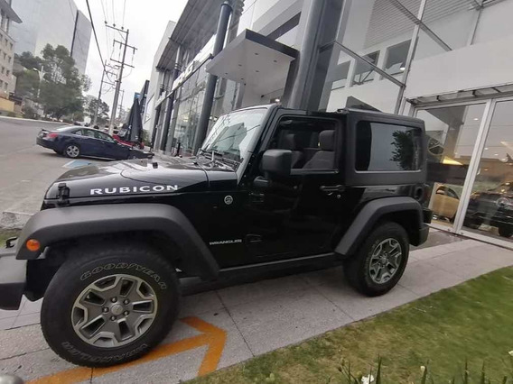 Jeep Wrangler Rubicon 4x4 At 2013 Negro