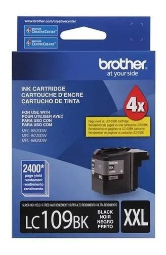 Cartucho Original Brother Lc-109 Xxl Black 43ml